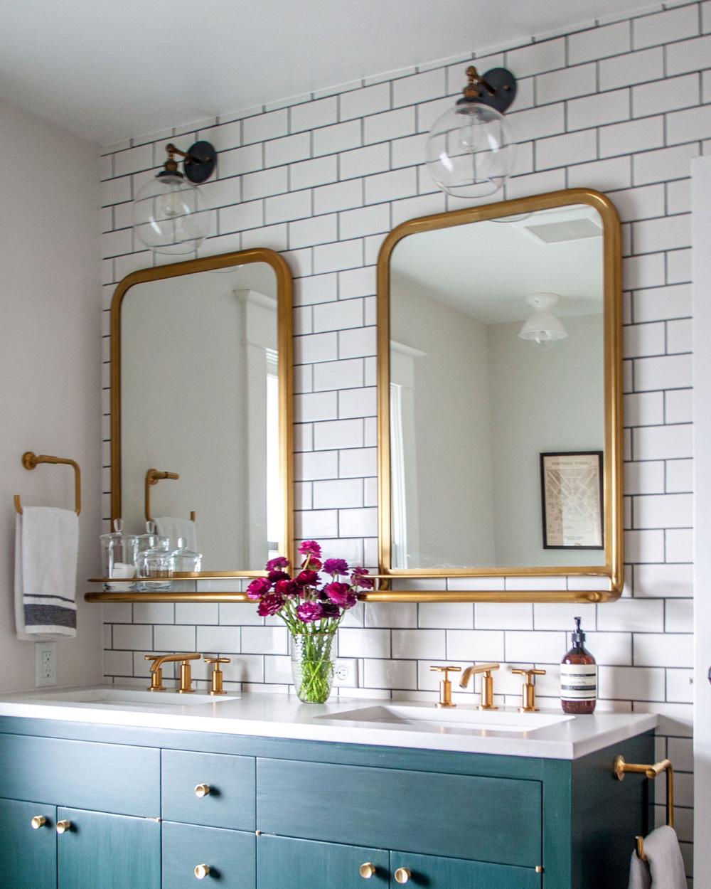 restaurer miroir doré ancien diy