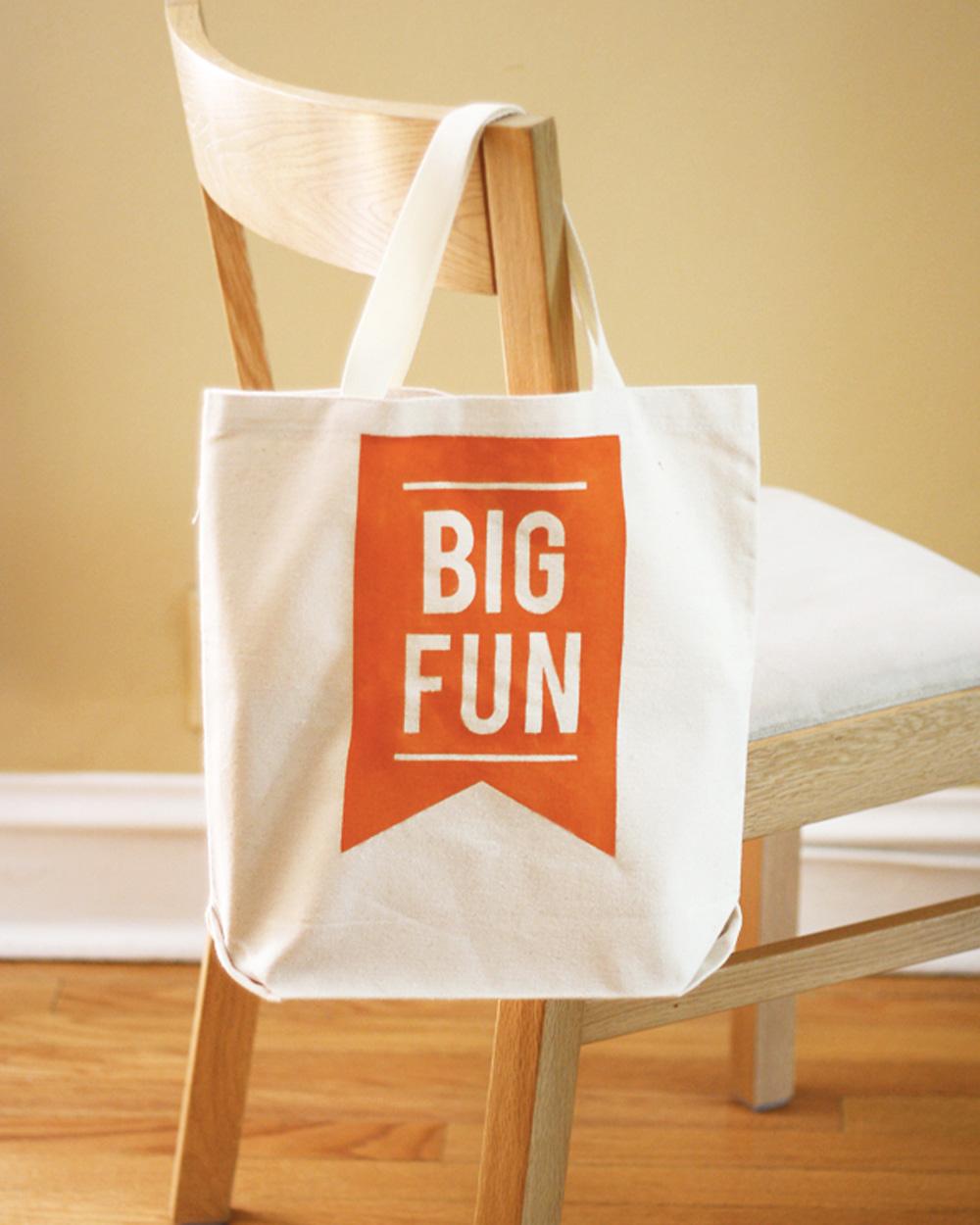 tote bag message diy