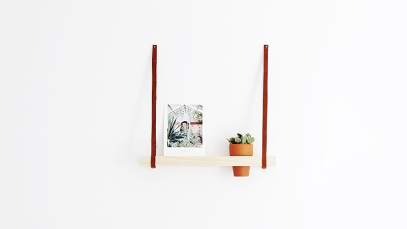 etagere diy fleur plante