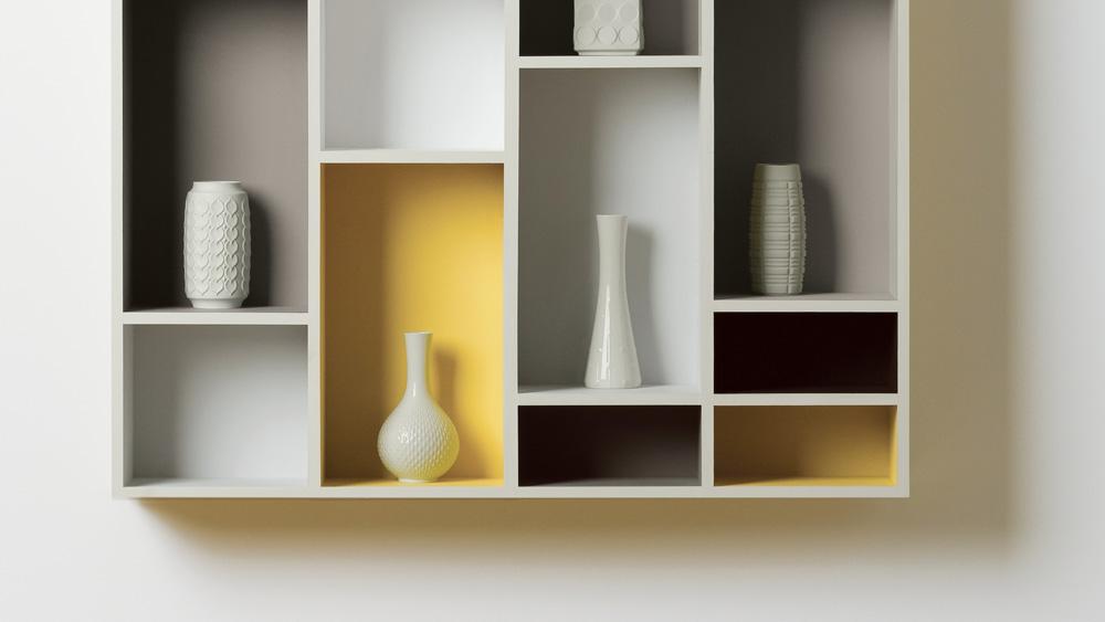 peindre une tag re en m lamin shake my blog. Black Bedroom Furniture Sets. Home Design Ideas
