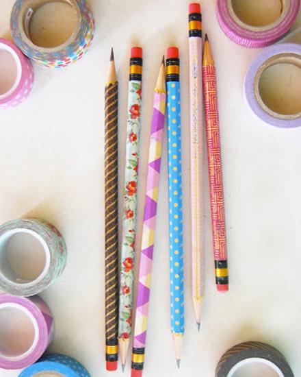 Shake my blog un pot crayons fait maison - Masking tape traduction ...