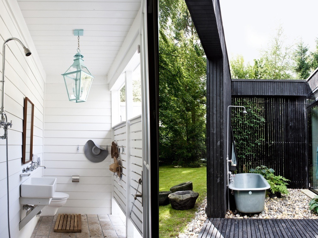 des douches d 39 ext rieur shake my blog. Black Bedroom Furniture Sets. Home Design Ideas