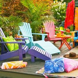 shake my blog un jardin color. Black Bedroom Furniture Sets. Home Design Ideas
