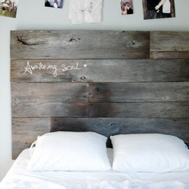 Shake my blog fabriquer une t te de lit en bois - Fabriquer tete de lit en bois ...