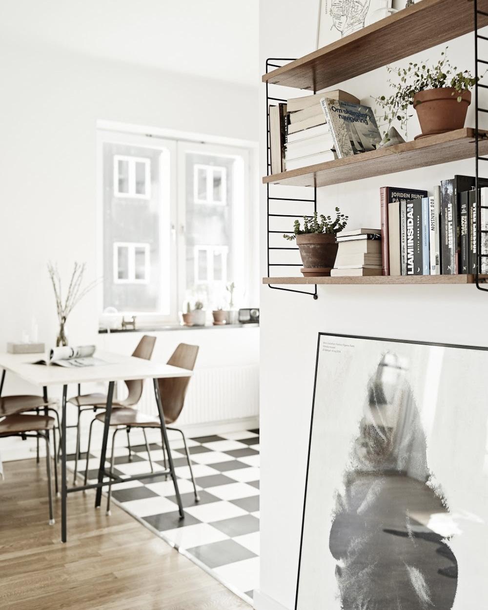 cuisine vintage déco scandinave