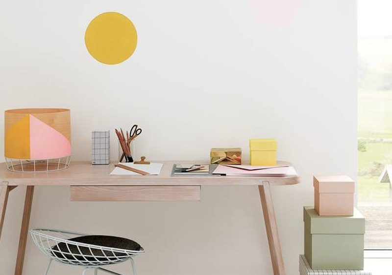 lampe bureau diy