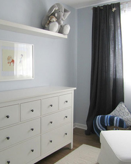 shake my blog une chambre d 39 enfant en bleu et gris. Black Bedroom Furniture Sets. Home Design Ideas