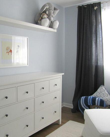 Shake my blog une chambre d 39 enfant en bleu et gris - Deco chambre gris bleu ...