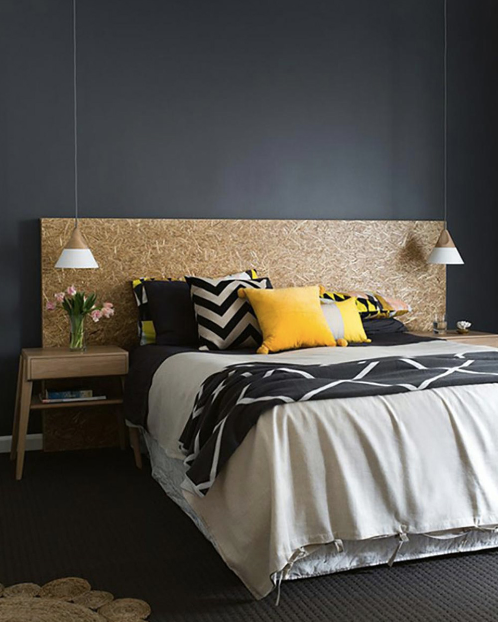 une d co en noir et jaune shake my blog. Black Bedroom Furniture Sets. Home Design Ideas