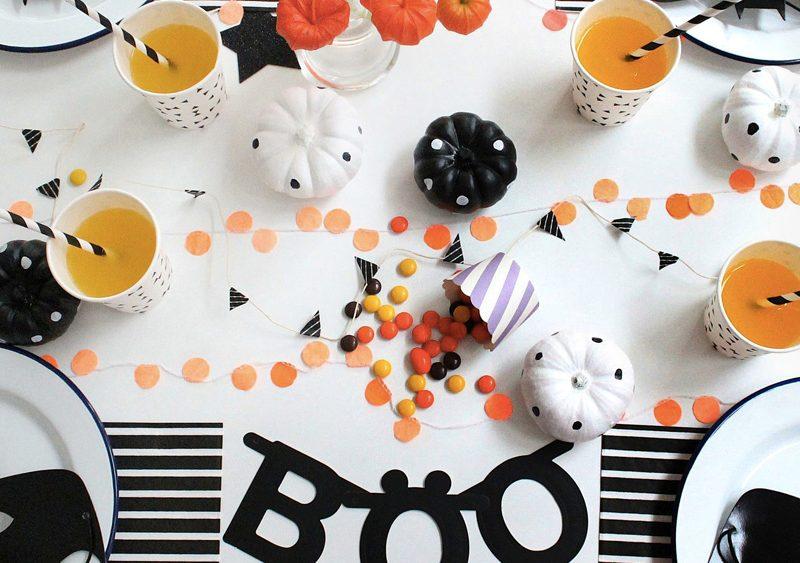 deco table halloween enfant