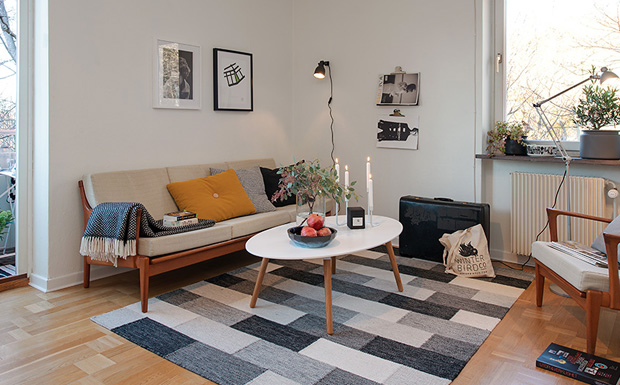 un appartement la d co r tro shake my blog. Black Bedroom Furniture Sets. Home Design Ideas