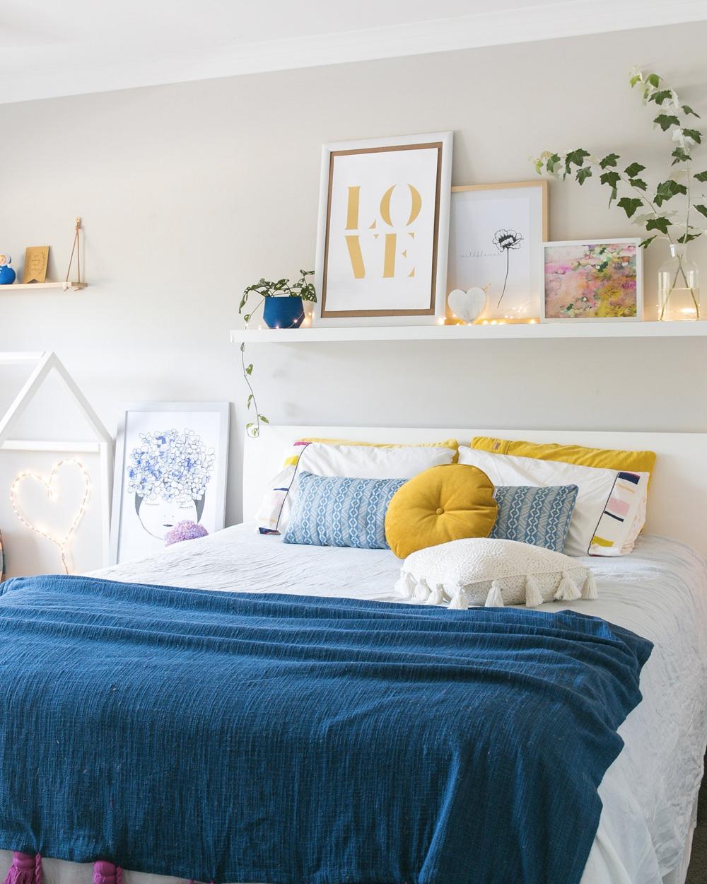 De jolies chambres color es shake my blog for Decoration chambre adulte tendance