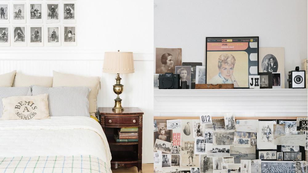 chambre déco vintage