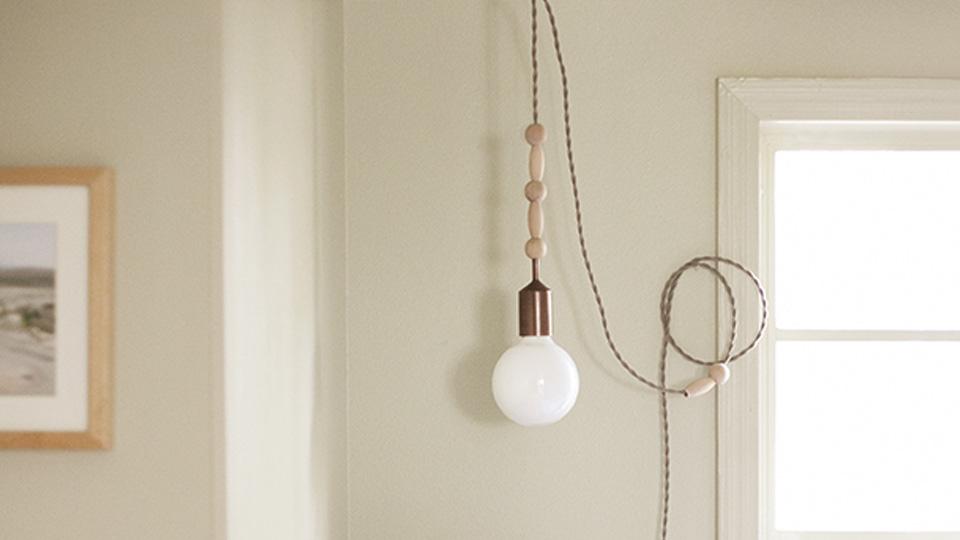 lampe suspendue diy