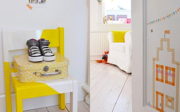 Une chambre d 39 enfant color e shake my blog - Chambre enfant coloree ...