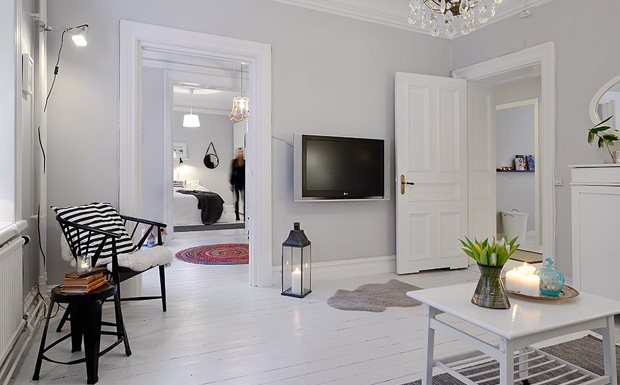 Un appartement f minin et color shake my blog for Deco appartement feminin