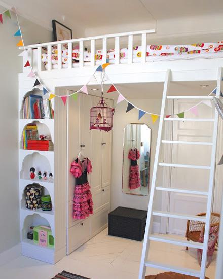 Shake my blog une mezzanine dans la chambre des enfants - Mezzanine chambre enfant ...