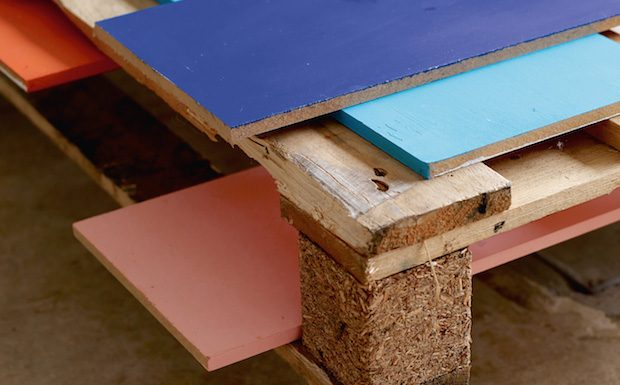 table basse palette diy