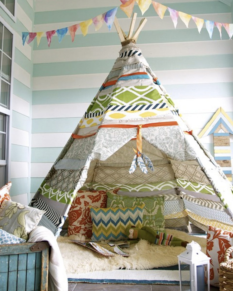 diy tipi sans couture comment fabriquer un tipi ides pour une tente indienne sympa diy with diy. Black Bedroom Furniture Sets. Home Design Ideas