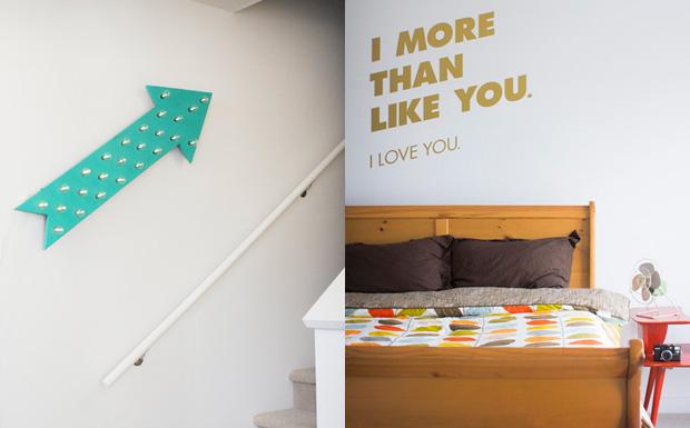 deco appartement multicolore