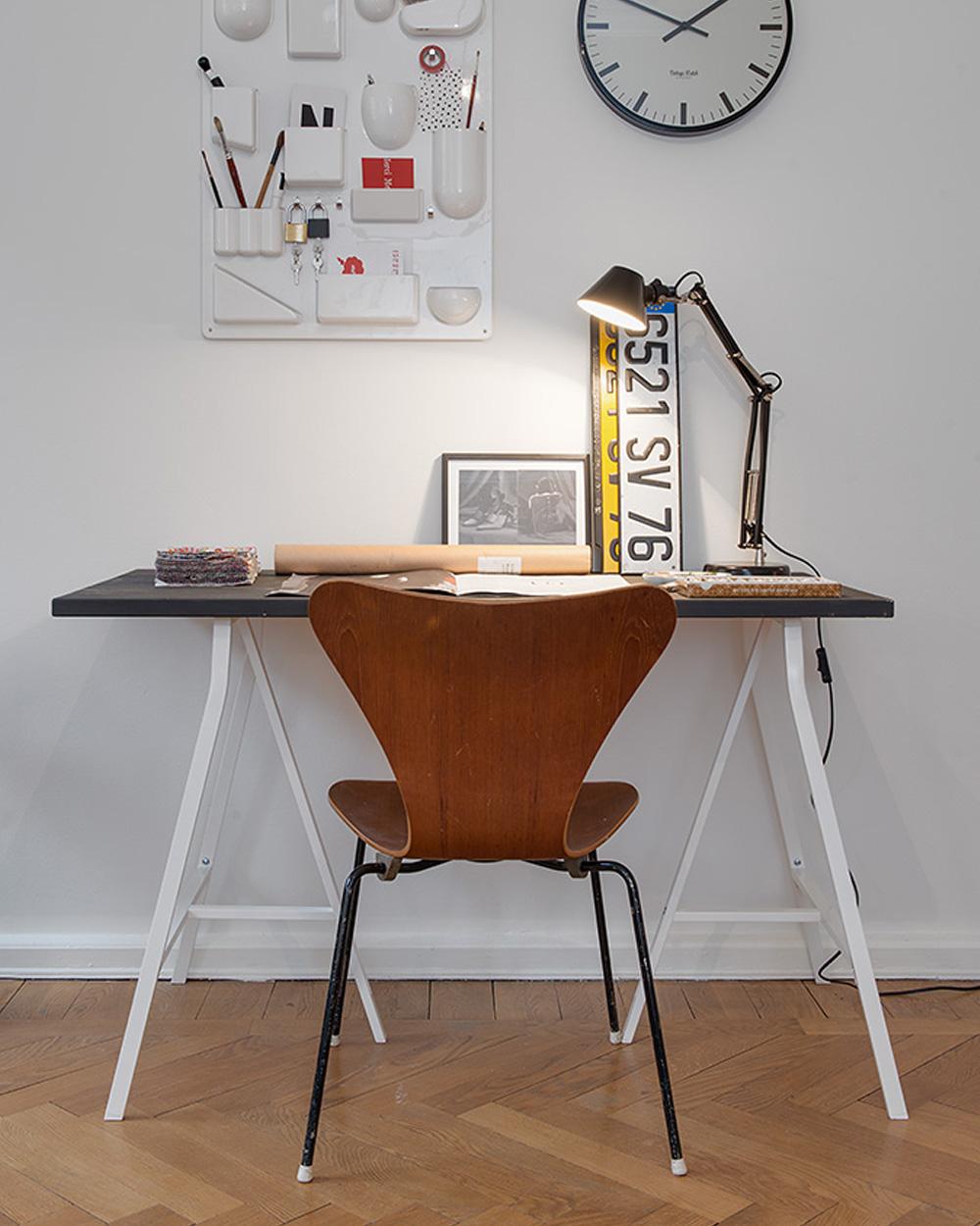 bureau déco vintage