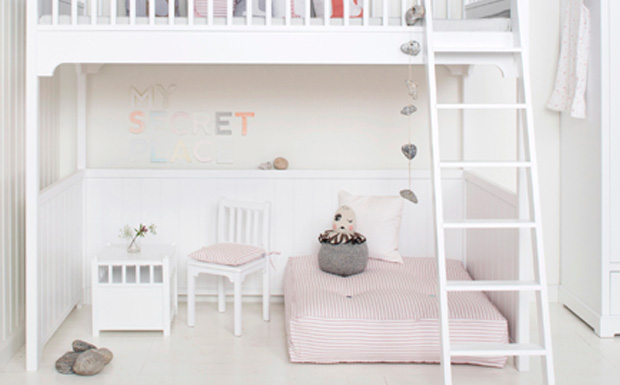 une mezzanine dans la chambre des enfants shake my blog. Black Bedroom Furniture Sets. Home Design Ideas