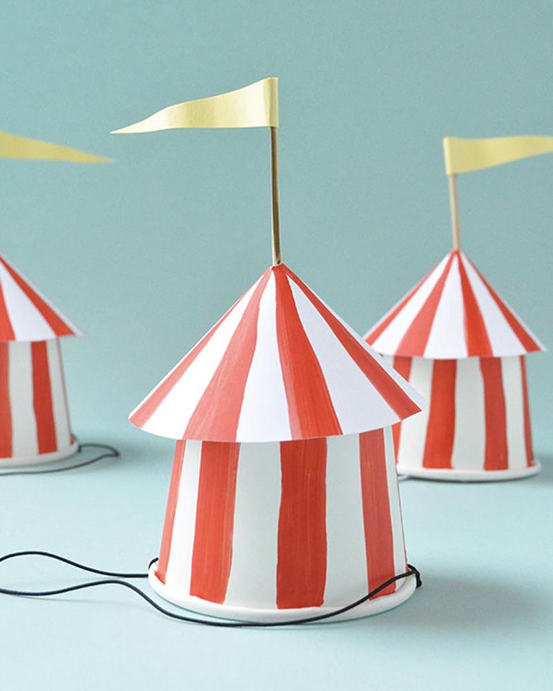chapeau cirque diy carnaval