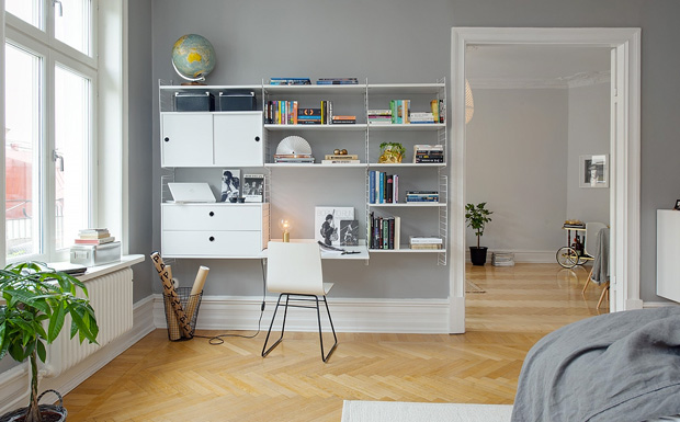 bureau deco scandinave id e inspirante pour la conception de la maison. Black Bedroom Furniture Sets. Home Design Ideas