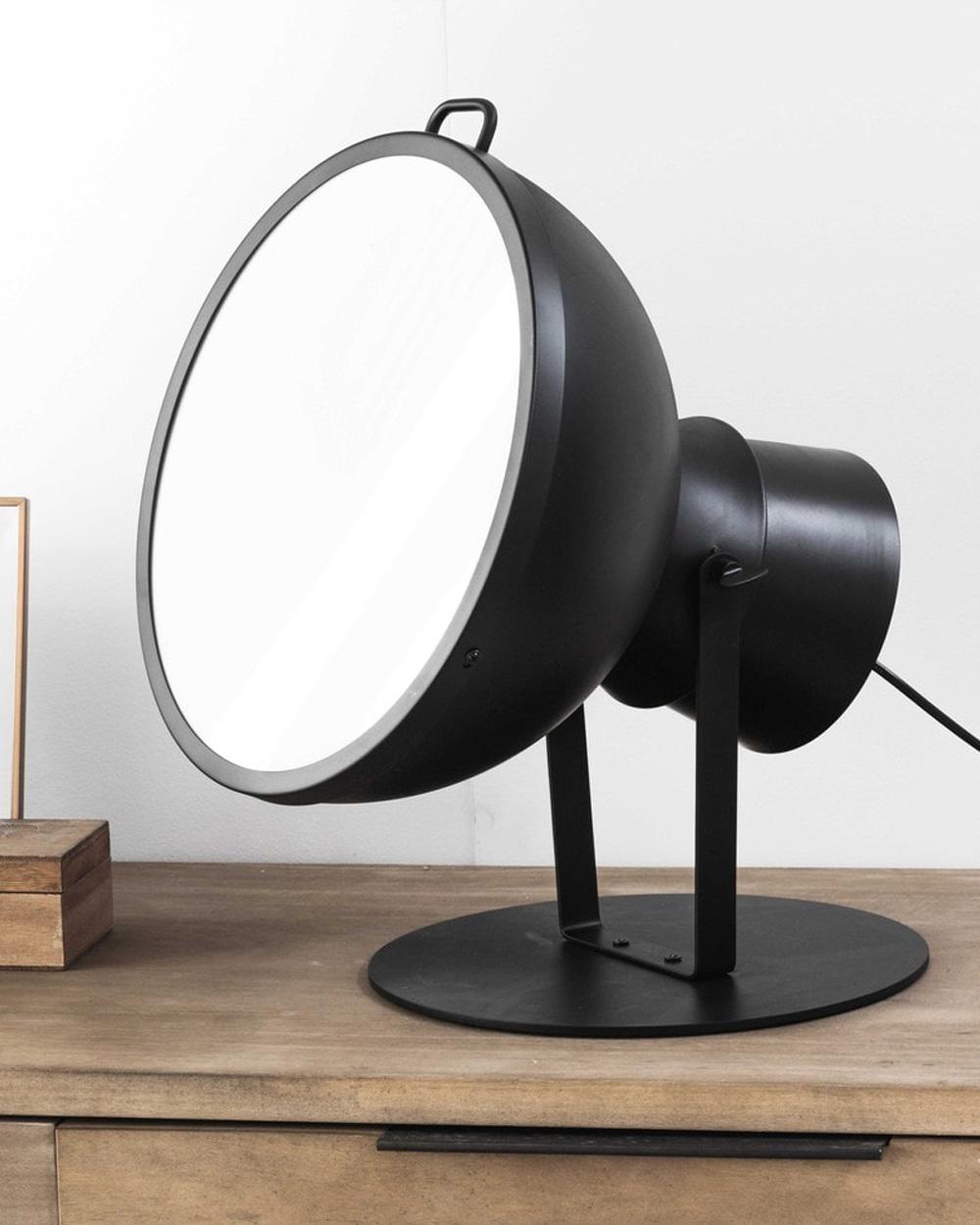 lampe articulée industrielle noire