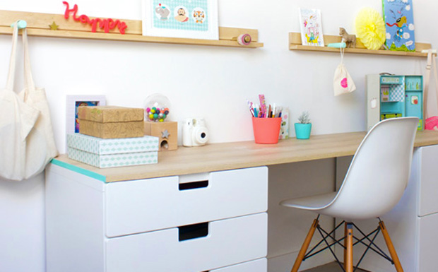 un joli bureau pour enfant shake my blog. Black Bedroom Furniture Sets. Home Design Ideas