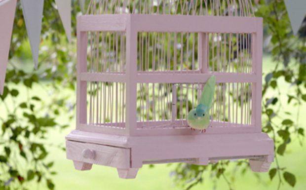 cage oiseau diy
