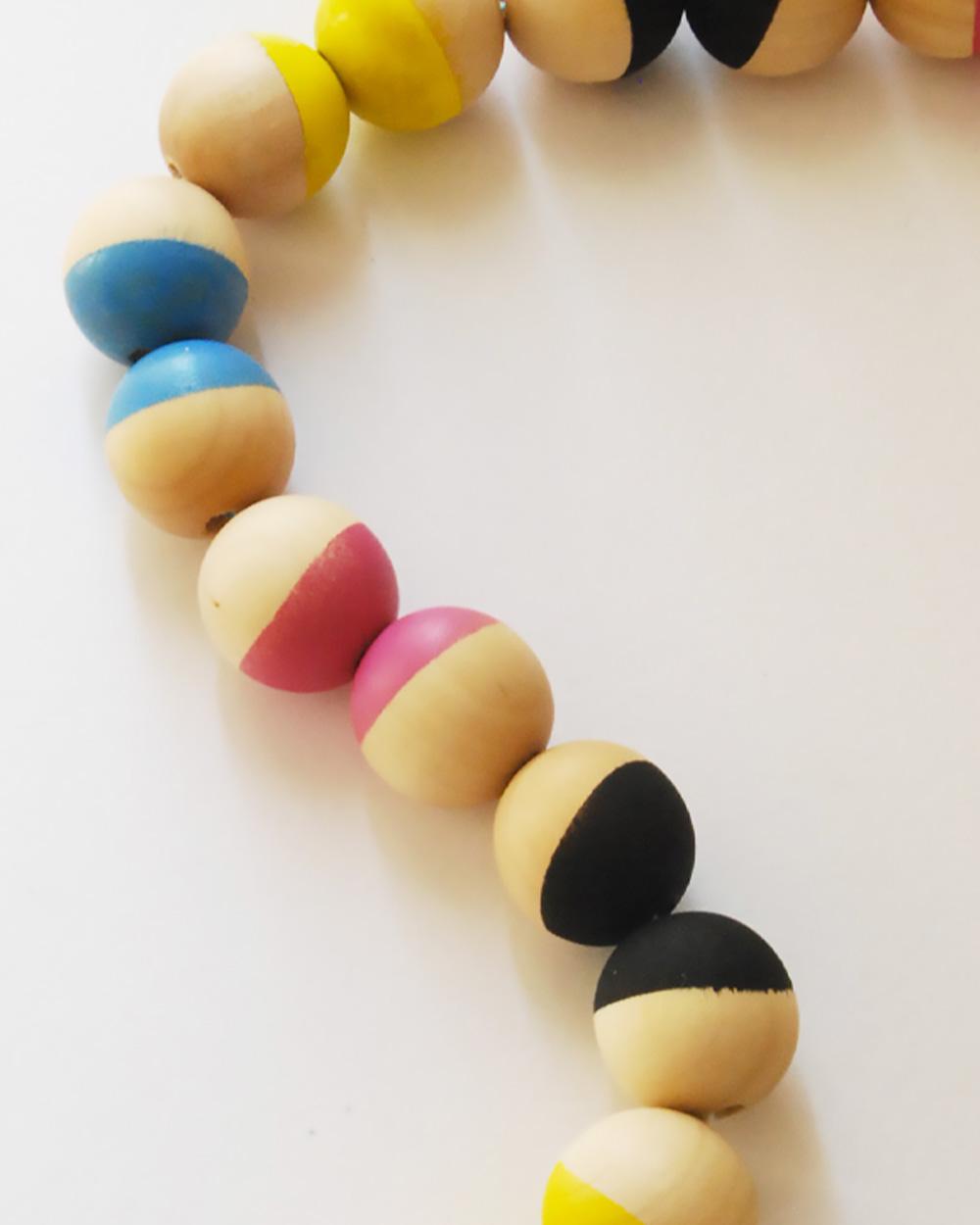 guirlande perle diy