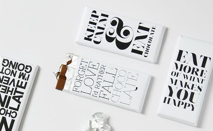tablette chocolat a imprimer