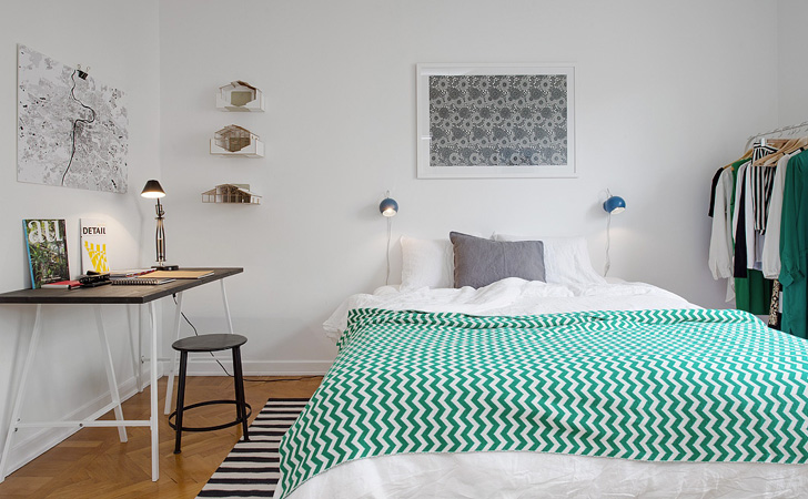 S lection de chambres scandinaves shake my blog - Deco chambre scandinave ...