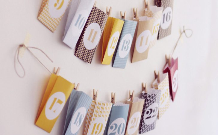 Un calendrier de l 39 avent diy shake my blog - Calendrier de l avent ikea ...