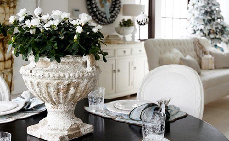 une d co de no l en beige et blanc shake my blog. Black Bedroom Furniture Sets. Home Design Ideas