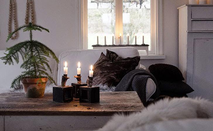 une d co champ tre dans votre maison pour no l shake my blog. Black Bedroom Furniture Sets. Home Design Ideas