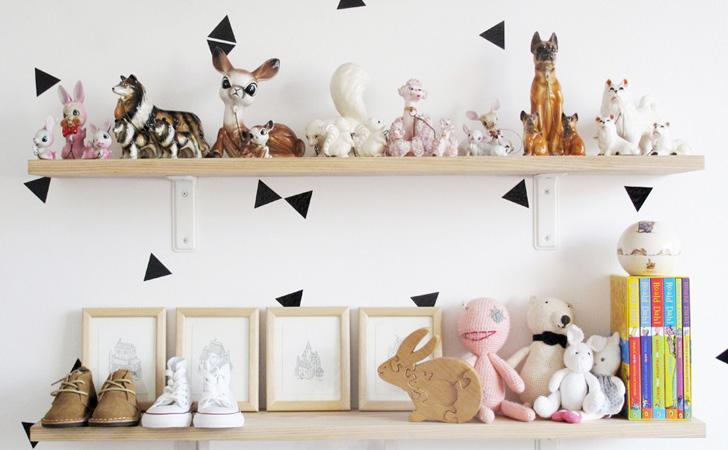 Une chambre d 39 enfant pur e et graphique shake my blog - Deco chambre d enfant ...