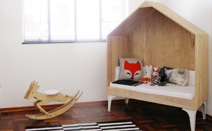 Une chambre d 39 enfant pur e et graphique shake my blog for Decoration chambre epuree