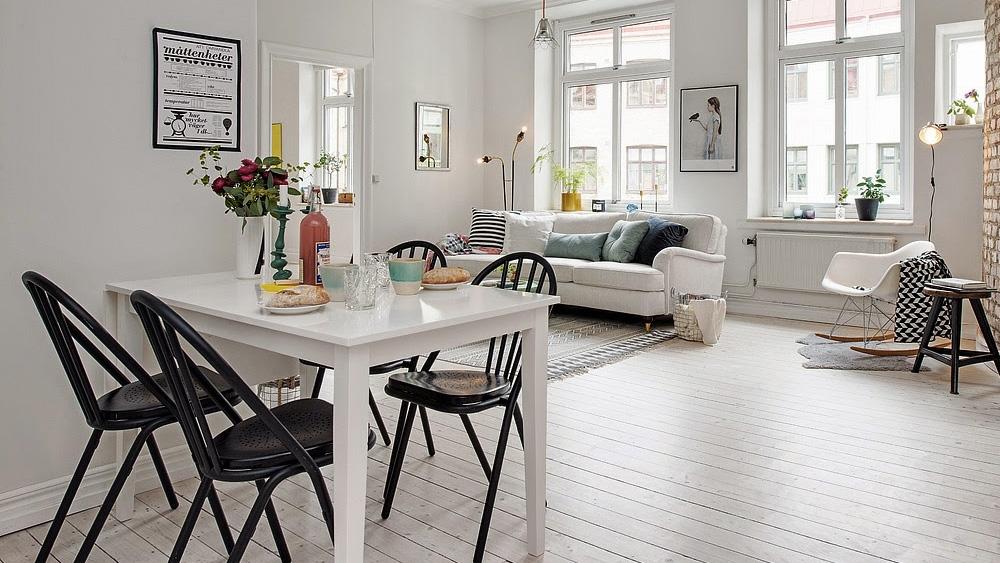 Un appartement aux couleurs pastel shake my blog - Deco scandinave pastel ...