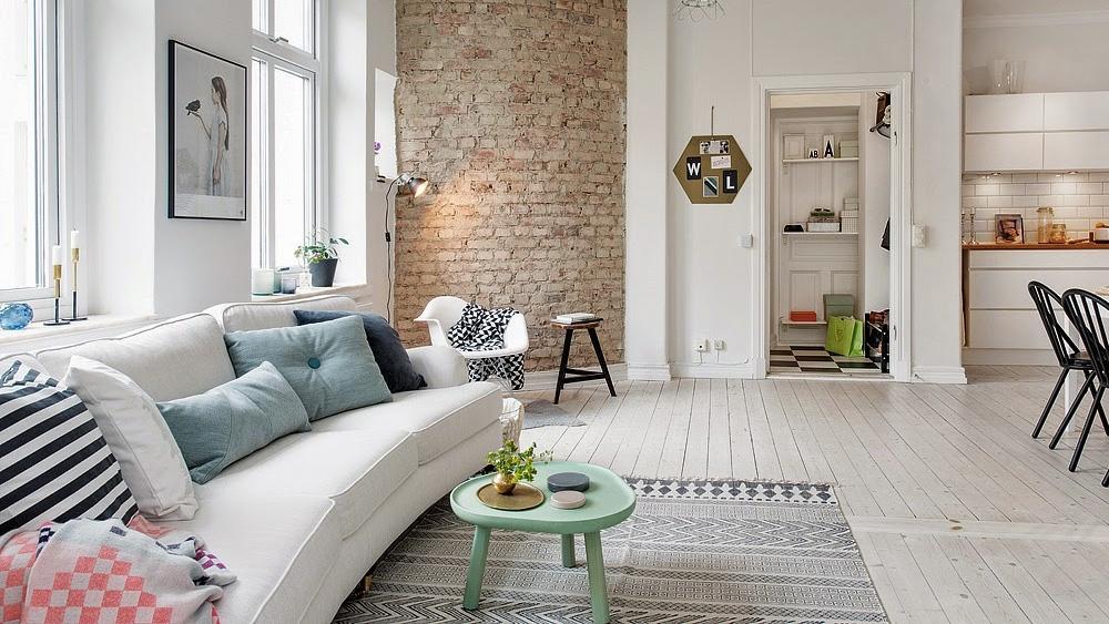 un appartement aux couleurs pastel shake my blog. Black Bedroom Furniture Sets. Home Design Ideas