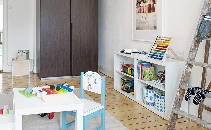 Une d co de chambre d 39 enfant toute blanche shake my blog - Chambre enfant noir et blanc ...