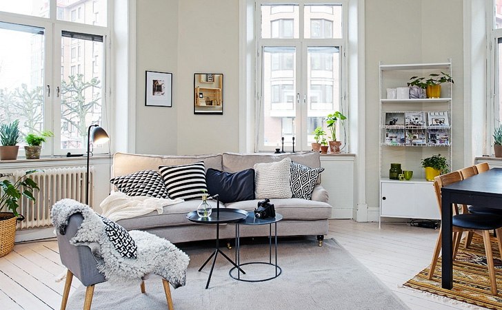 Une jolie d co scandinave pleine de charme shake my blog - Blog decoration interieur ...