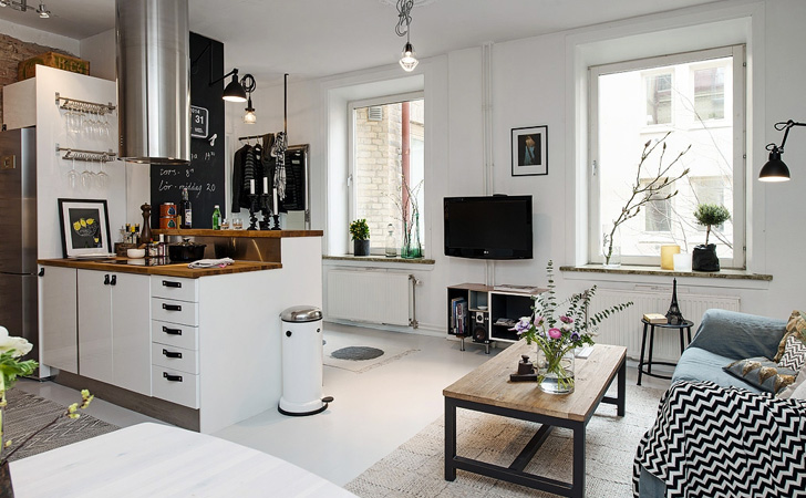 une d co vintage dans l 39 esprit scandinave shake my blog. Black Bedroom Furniture Sets. Home Design Ideas