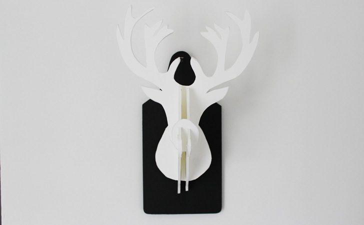 Extrêmement Fabriquer un trophée tête de cerf DIY | Shake My Blog LD54