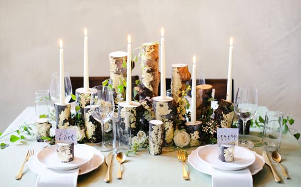 centre table mariage diy