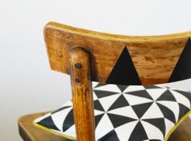 chaise geometrique diy