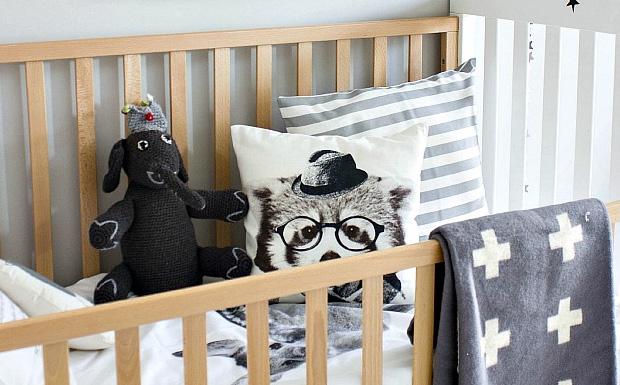 deco chambre enfant scandinave moderne