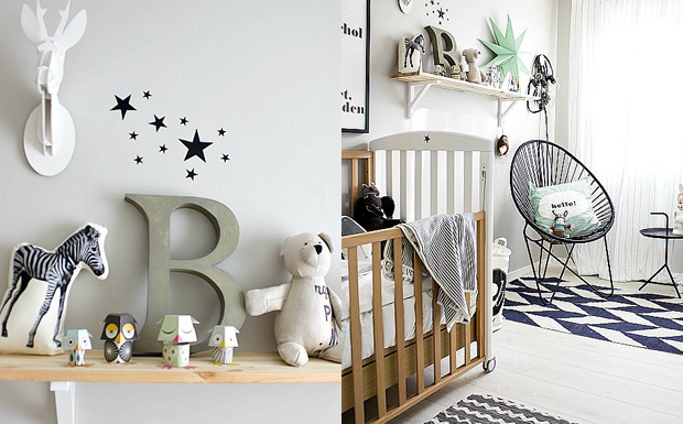 d co chambre bebe scandinave. Black Bedroom Furniture Sets. Home Design Ideas