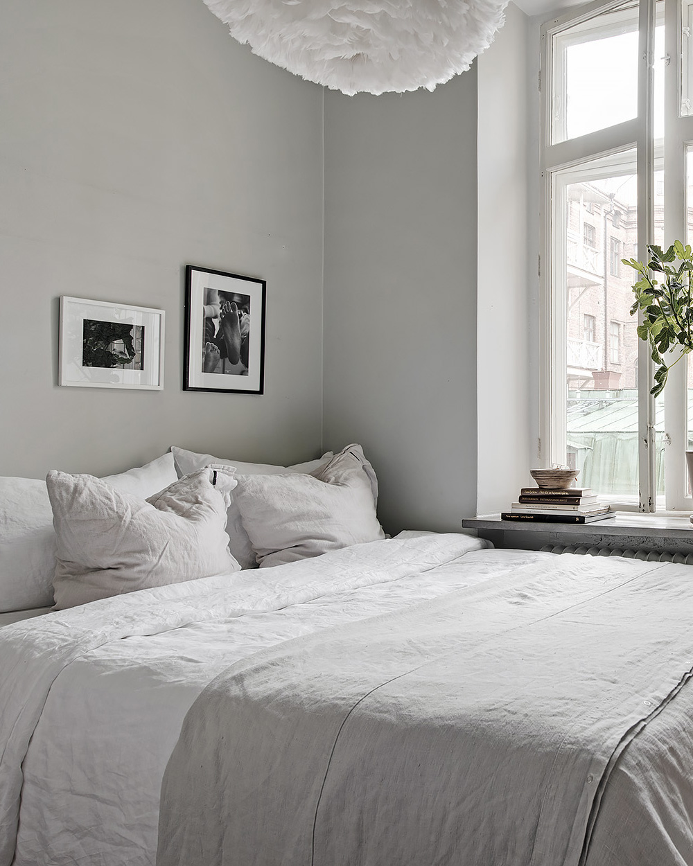 une d co scandinave en gris et blanc shake my blog. Black Bedroom Furniture Sets. Home Design Ideas